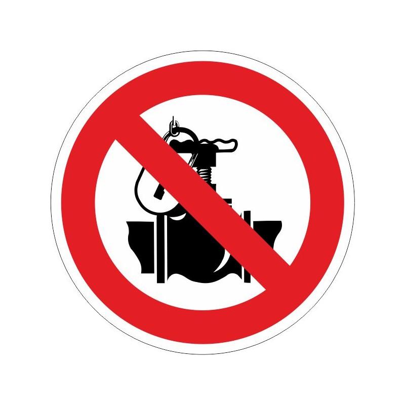 PTV-Prohibit tocar la vàlvula. Exclusivament personal autoritzat