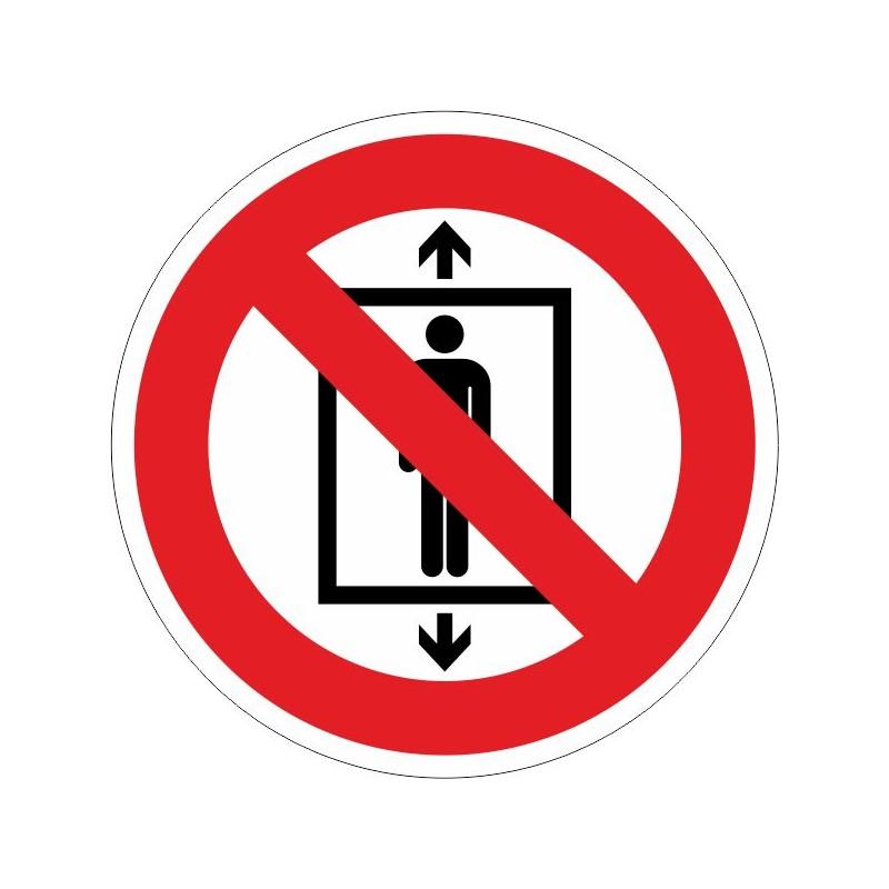 PUA-Prohibit utilitzar aquest ascensor a persones