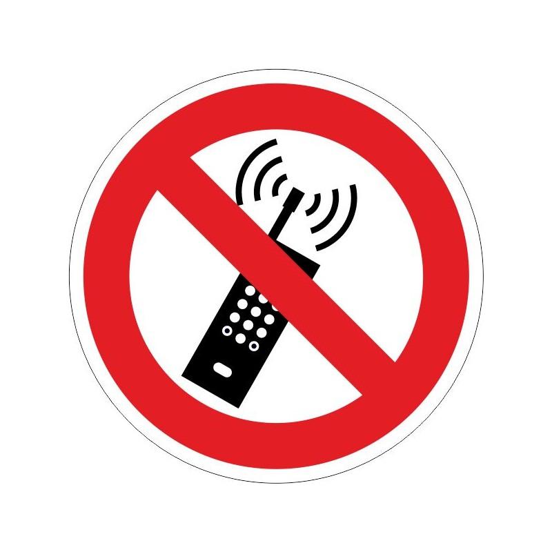 PUTM-Disco Prohibido la utilización de telefonía móvil - Referencia PUTM