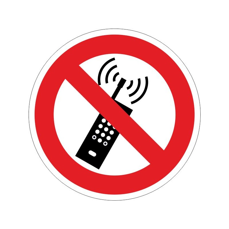PUTM-Prohibido la utilización de telefonía móvil