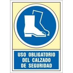 SYSSA,Señal Uso obligatorio del calzado de seguridad