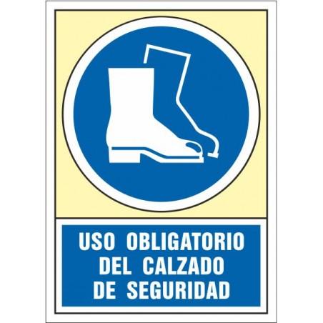 Uso obligatorio del calzado de seguridad