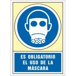 SYSSA,Señal Es obligatorio el uso de la máscara