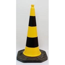 Cono Amarillo-Negro 1 metro...