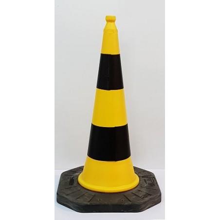 Cono Amarillo-Negro 1 metro altura