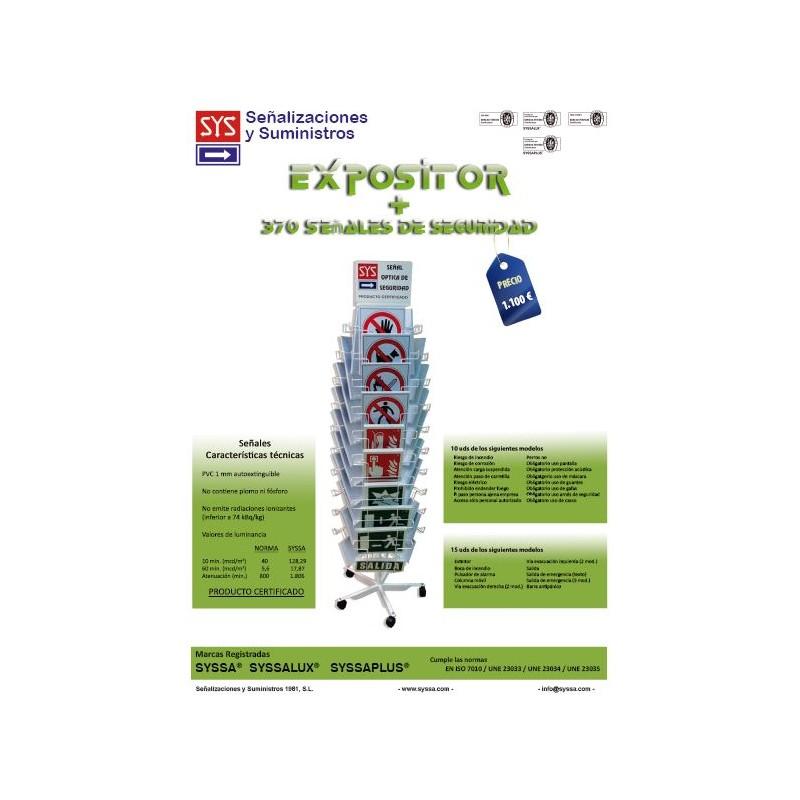 EXPOSITORSYSA3C-Expositor de señalización 3 cuerpos + 370 señales SYSSA