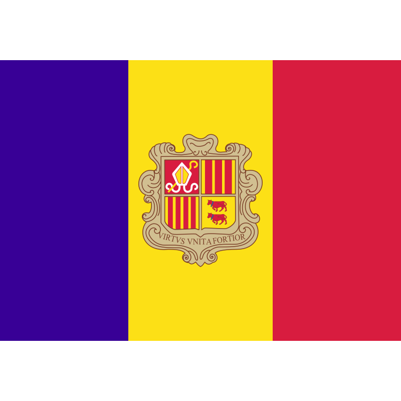SYSAAND-Bandera de Andorra