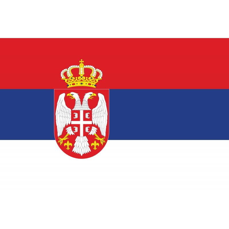 SYSASER-Bandera de Serbia