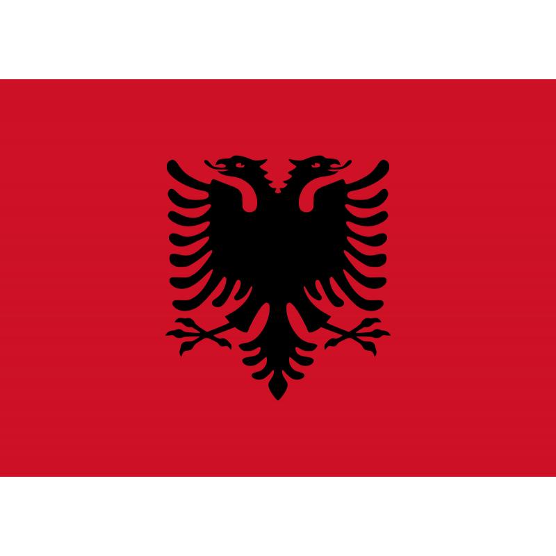 SYSAALB-Bandera de Albania