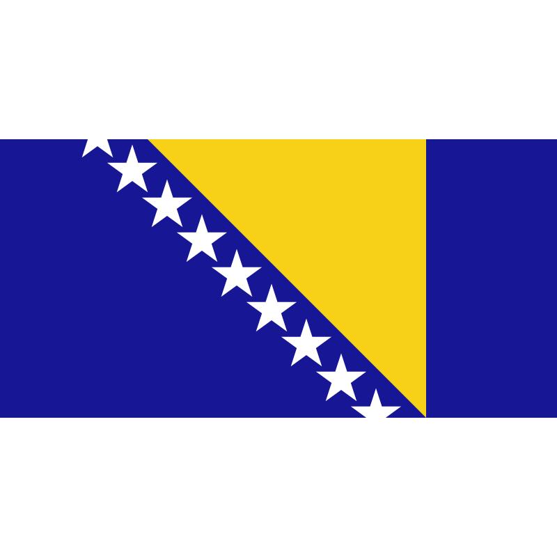 SYSABOS-Bandera de Bosnia y Herzegovina