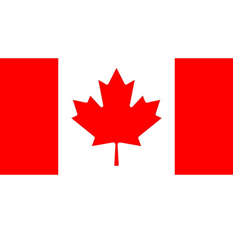 SYSACAN-Bandera de Canadá