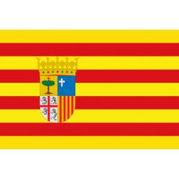 Bandera de Comunidad de Aragón