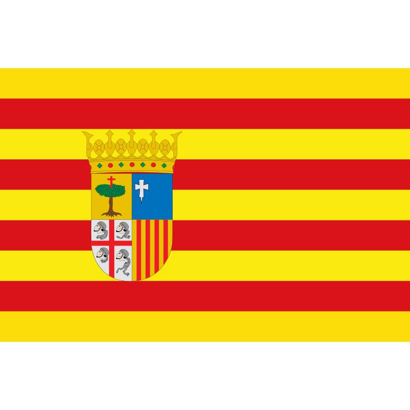 SYSAARA-Bandera de Comunidad de Aragón