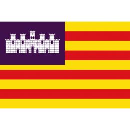 SYSSA - Tienda Online- Bandera de Comunidad de Baleares