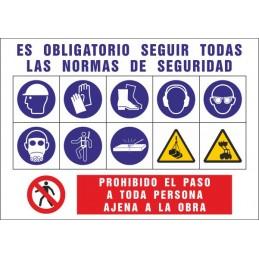 SYSSA Tienda Online - Cartel Informativo de Obras