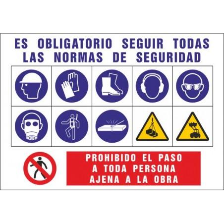 Cartel Informativo de obras