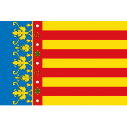 SYSSA - Tienda Online- Bandera de Comunidad de Valencia
