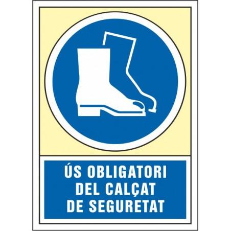 Ús obligatori del calçat de seguretat