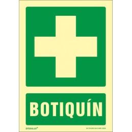 Oferta Señal Botiquin en PVC Fotoluminiscente