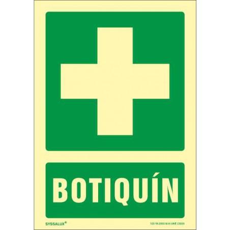 OFERTA Botiquín - Fotoluminiscente