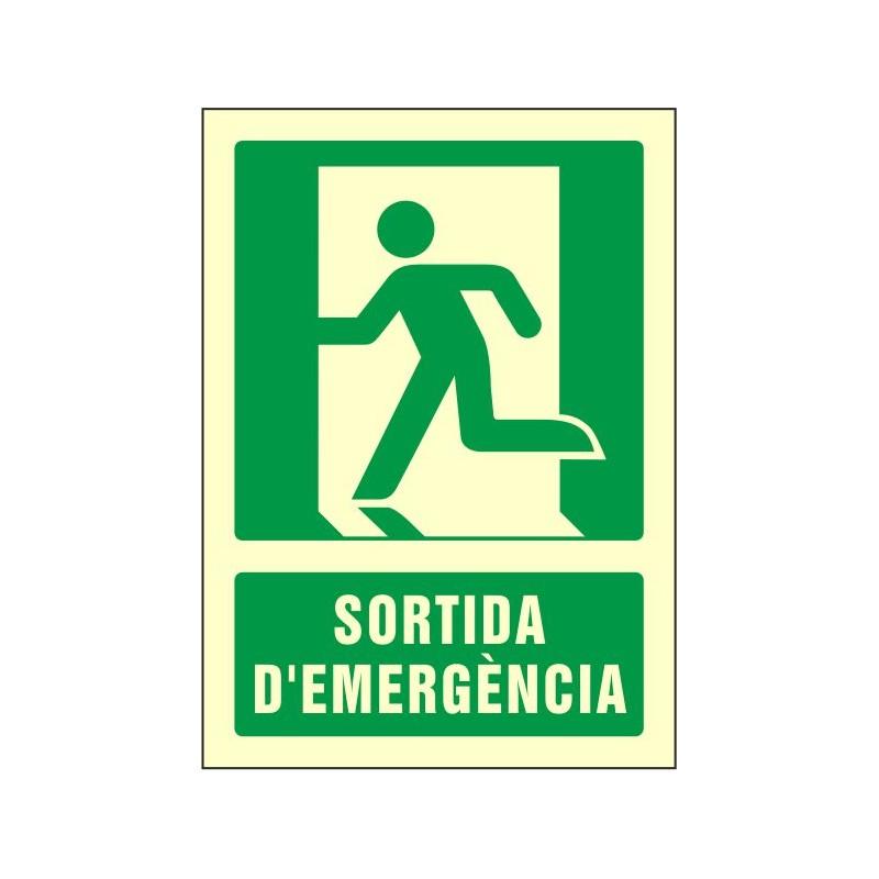 """OF500029FC-OFERTA OF500029FC Sortida d'emergència - Fotoluminiscente Clase """"B"""""""