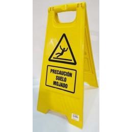 SYSSSA - Tienda Online - Bípode de señalización plástico Suelo Mojado