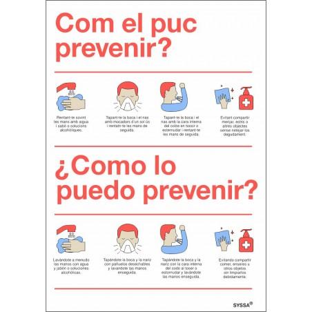 Señal Prevención Covid-19