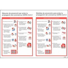 SYSSA - Tienda Online -  Señal Prevención Covid-19