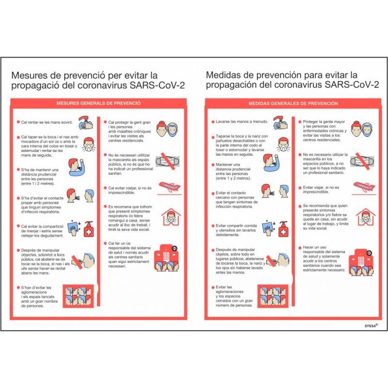 COVID19PA29PS-Señal Normas Actuación para Prevención ante Covid-19