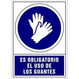 Señalización Covid-19 - SYSSA - Tienda Online -  Uso Obligatorio de Guantes - Covid-19