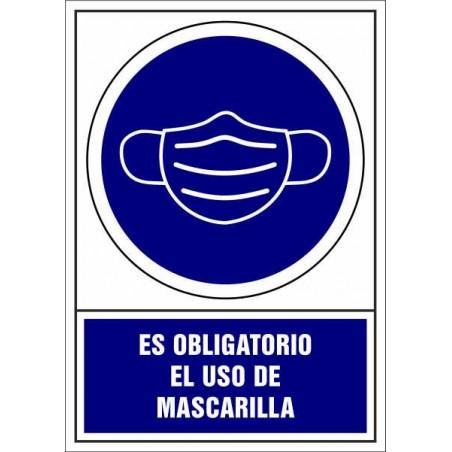 Es Obligatorio el uso de Mascarilla - Covid-19