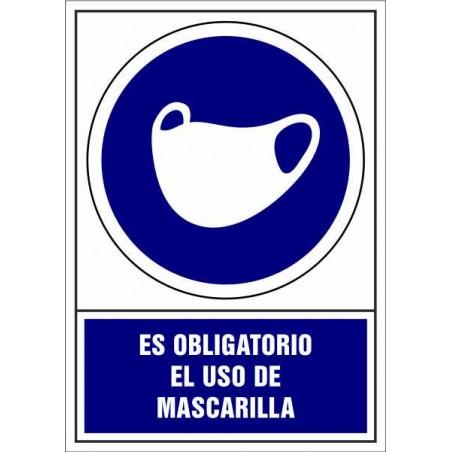 Es Obligatorio el uso de Mascarilla de protección- Covid-19