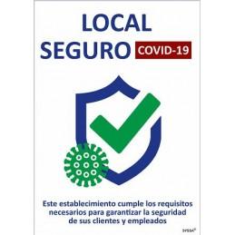 SYSSA - Tienda Online -  COVID-19 Señal de Local Seguro