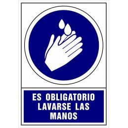 SYSSA - Tienda Online -  de Obligación de lavarse las manos - Covid-19
