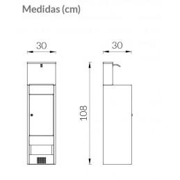 SYSSA - Tienda Online -  Covid-19 Dispensador de gel Hidroalcohólico accionado por pedal.