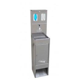 SYSSA - Tienda Online -  Covid-19 Dispensador de gel Hidroalcohólico accionado por pedal con EPIS .