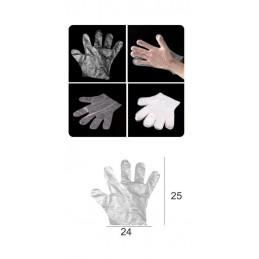 SYSSA - Tienda Online -  Covid-19 Guantes desechables de plástico (Bolsa de 100 Unidades)