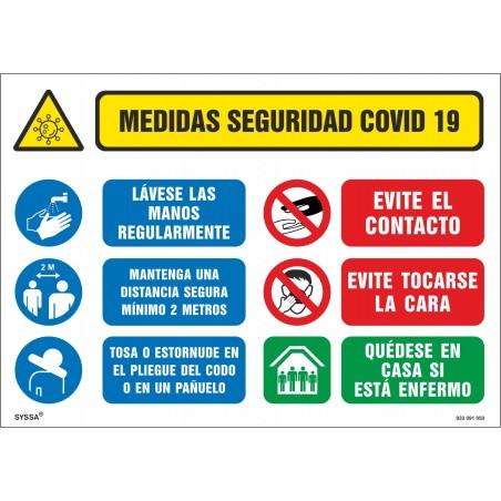 Covid-19 Señalizacion Medidas de Seguridad