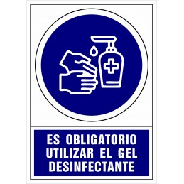 SYSSA - Tienda Online -  de Obligación de utilizar el gel desinfectante - Covid-19