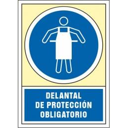 SYSSA - Tienda Online - Señal Delantal de protección obligatorio