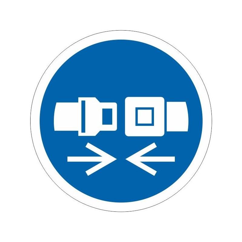 UCDS-Disco Es Obligatorio el uso de cinturón de seguridad - Referencia UCDS