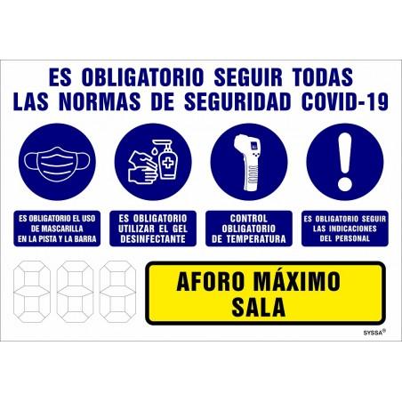 Señal Salida 9030F (UNE - 23034)