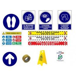 SYSSA - TIENDA ONLINE - PACK SEÑALES INFORMACIÓN - Señalización COVID-19