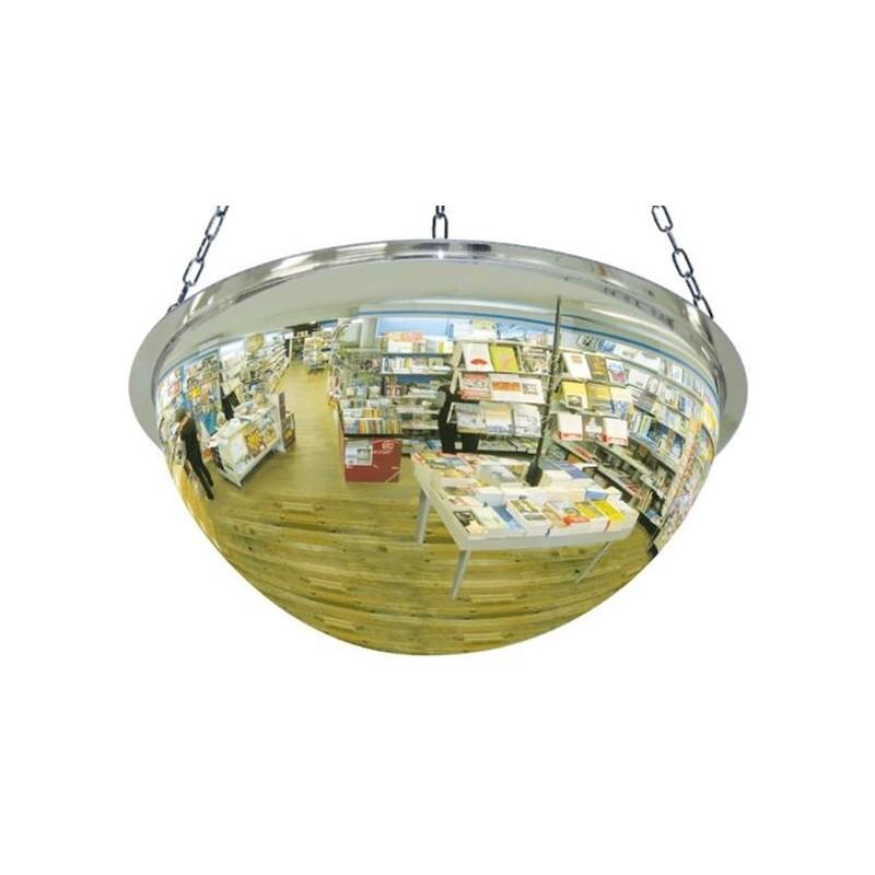 EH56-Espejo Hemisférico de Vigilancia, media esfera