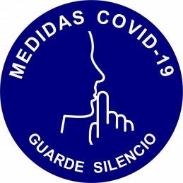 """SYSSA - Tienda Online -  disco adhesivo antideslizante para suelo """"Entrada Sentido a seguir en itinerario Covid-19"""