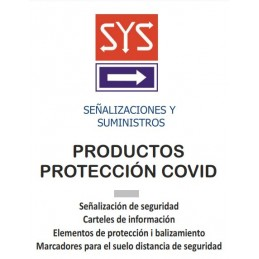Catálogo de Señalización Covid-19 - SYSSA - Tienda Online