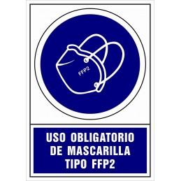 Señalización Covid-19 - SYSSA - Tienda Online -  Uso Obligatorio de Mascarilla Tipo FPP2
