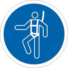 SYSSA - Señal Es obligatorio el uso del cinturón de seguridad