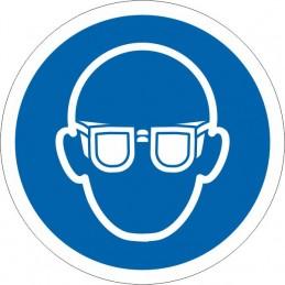 SYSSA - Señal Es obligatorio el uso de las gafas