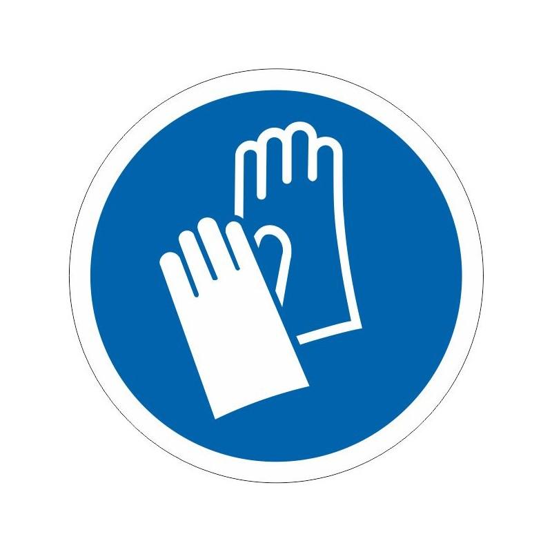 UGU-Disco Es obligatorio el uso de los guantes - Referencia UGU